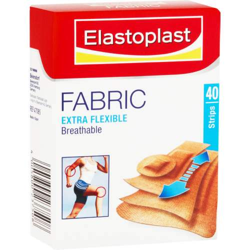 Mopani Pharmacy Health Elastoplast Assorted Fabric Strips 40's 4005800237508 518721003