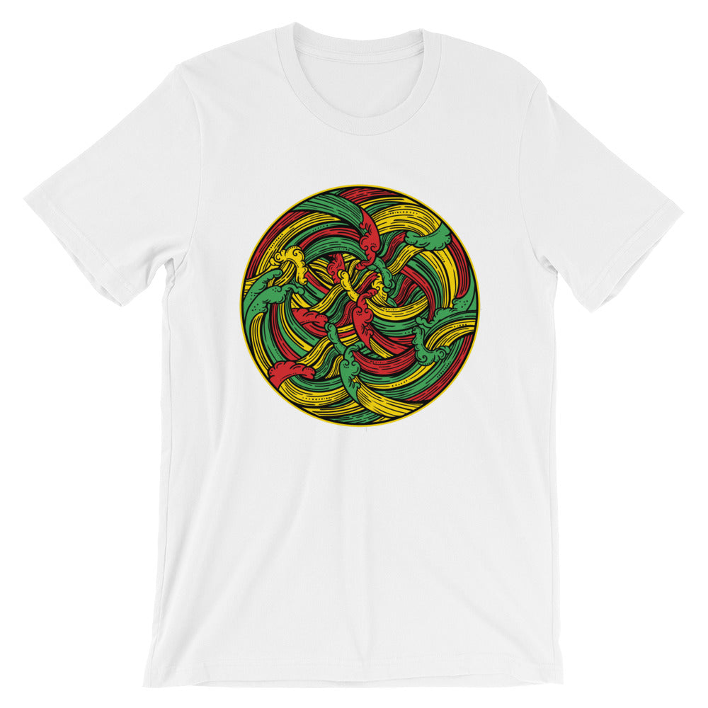 Vibing Waves Short-Sleeve Unisex T-Shirt