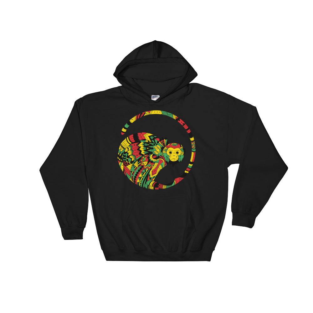 Vibin Monkey Hooded Sweatshirt