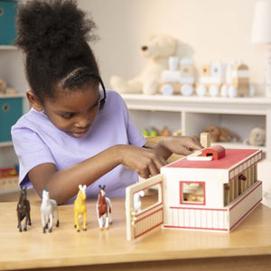 Melissa And Doug- Take-Along Show-Horse Stable