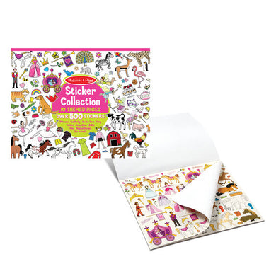 Melissa And Doug Sticker Collection Princesses, Tea Party, Animals and More