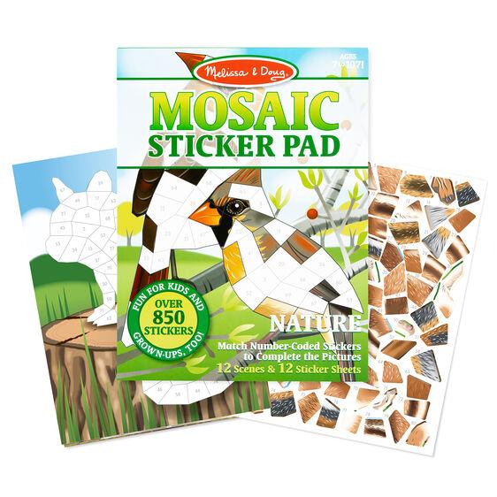 Melissa & Doug Mosaic Sticker Pad - Nature