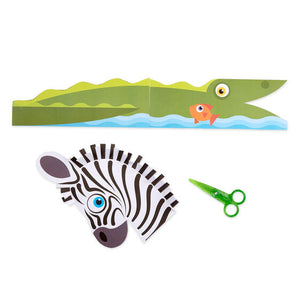Melissa & Doug Scissor Skills Activity Pad - Safari