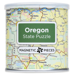 100 Piece Magnetic Puzzle - State of Oregon