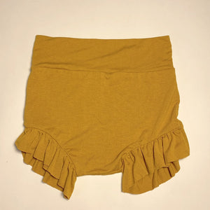 Sugar + Maple High Waisted Bloomer - Mustard