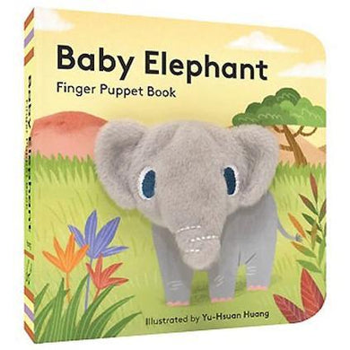 Baby Elephant Finger Puppet Book
