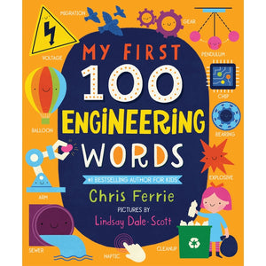 My First 100 Engineering Words Board Book