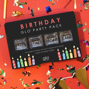Glo Cubes Birthday Party Pack! - 12 pack