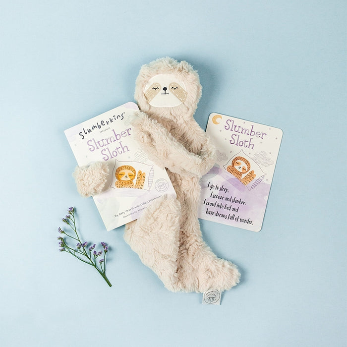 Slumberkins Snuggler & Book Gift Set - Slumber Sloth