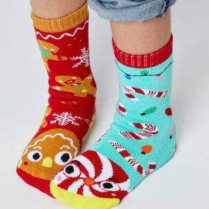 Pals Socks - Special Edition - Gingerbread and Candy Cane