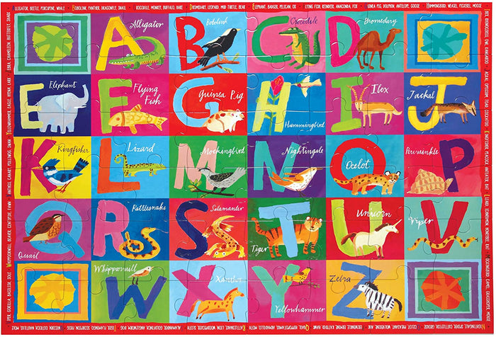 20 Piece Big Puzzle- Animal ABC