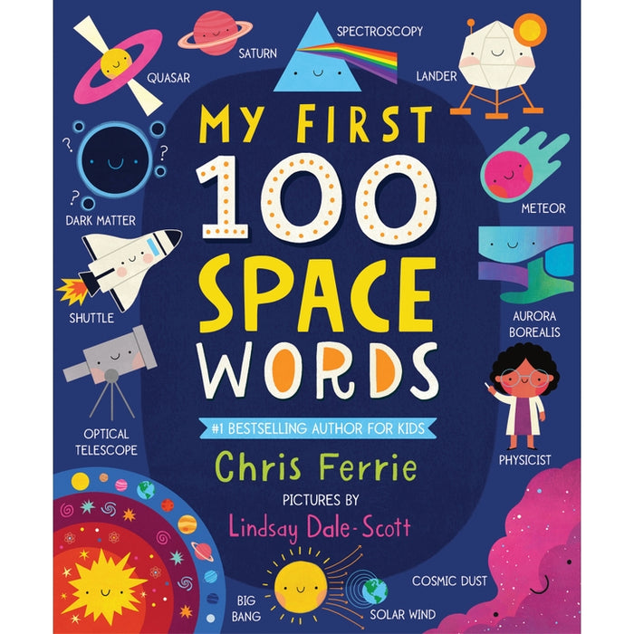 My First 100 Space Words Board Book