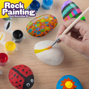 Creative Kids  - Ultimate Rock Painting Craft Kit for Kids