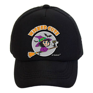 Kids Trucker Hat - Wicked Cute Witch