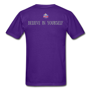 Know Who You Are Gildan Ultra Cotton Adult T-Shirt - purple