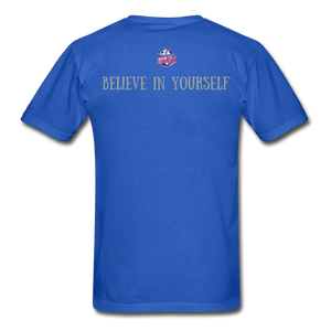 Know Who You Are Gildan Ultra Cotton Adult T-Shirt - royal blue