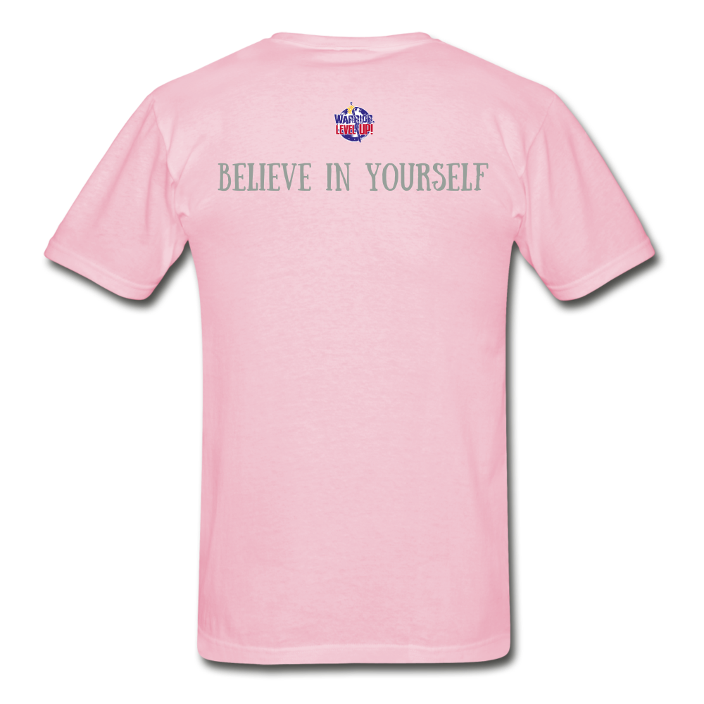 Know Who You Are Gildan Ultra Cotton Adult T-Shirt - light pink