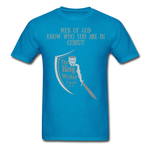 Load image into Gallery viewer, Know Who You Are Gildan Ultra Cotton Adult T-Shirt - turquoise
