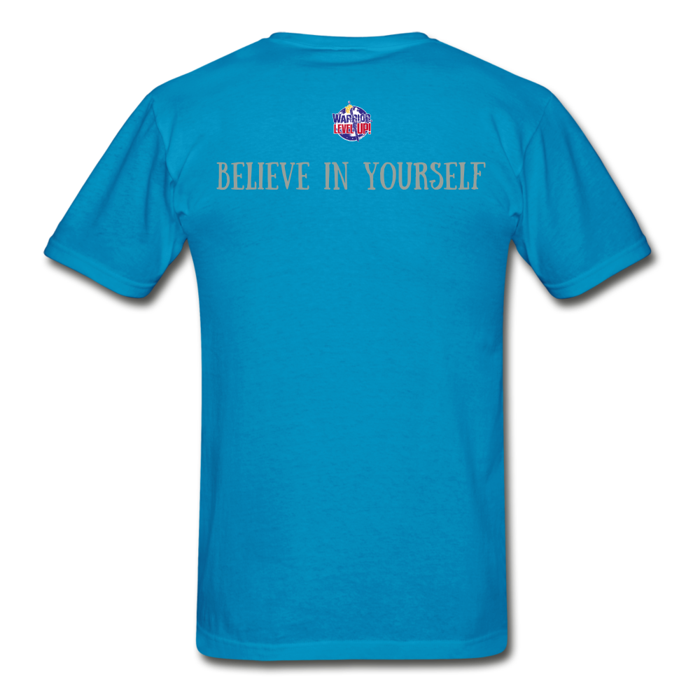 Know Who You Are Gildan Ultra Cotton Adult T-Shirt - turquoise