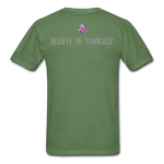 Load image into Gallery viewer, Know Who You Are Gildan Ultra Cotton Adult T-Shirt - military green