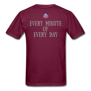 Give Me Christ Gildan Ultra Cotton Adult T-Shirt - burgundy
