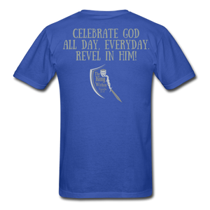 Phil 4:4 Men's T-Shirt - royal blue