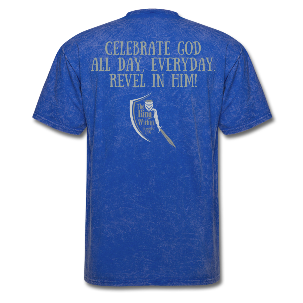 Phil 4:4 Men's T-Shirt - mineral royal