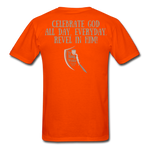 Load image into Gallery viewer, Phil 4:4 Men's T-Shirt - orange