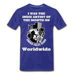 Load image into Gallery viewer, Indie Artist Premium T-Shirt - royal blue
