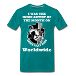 Load image into Gallery viewer, Indie Artist Premium T-Shirt - teal