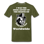 Load image into Gallery viewer, Indie Artist Premium T-Shirt - olive green