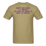 Load image into Gallery viewer, Trust the Process Men's T-Shirt - khaki