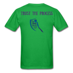Load image into Gallery viewer, Trust the Process Men's T-Shirt - bright green