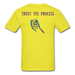 Load image into Gallery viewer, Trust the Process Men's T-Shirt - yellow