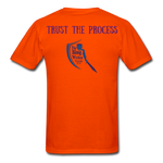 Load image into Gallery viewer, Trust the Process Men's T-Shirt - orange