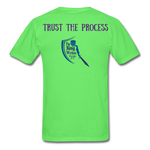 Load image into Gallery viewer, Trust the Process Men's T-Shirt - kiwi