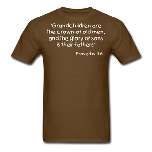 Grandchildren are the Crown Men's T-Shirt - brown