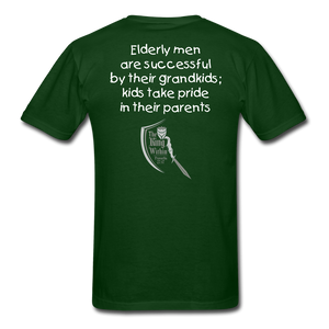 Grandchildren are the Crown Men's T-Shirt - forest green