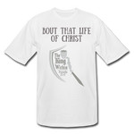 Load image into Gallery viewer, Bout that Life Men's Tall T-Shirt - white