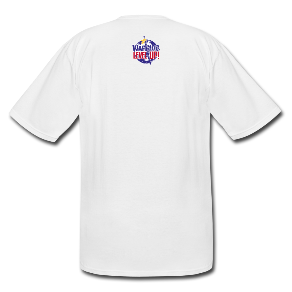 Bout that Life Men's Tall T-Shirt - white