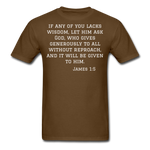 Load image into Gallery viewer, Wisdom Men's T-Shirt - brown