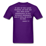 Load image into Gallery viewer, Wisdom Men's T-Shirt - purple