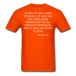 Load image into Gallery viewer, Wisdom Men's T-Shirt - orange