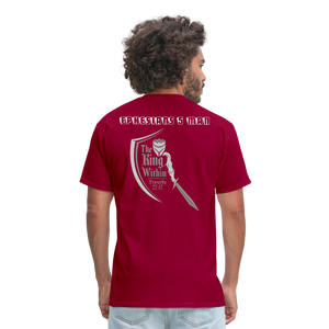 Men's T-Shirt - dark red