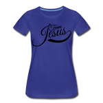 Load image into Gallery viewer, Team Jesus Women T-Shirt - royal blue