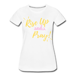 Load image into Gallery viewer, Rise Up Women's T-Shirt - white