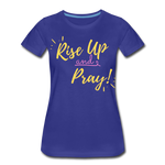 Load image into Gallery viewer, Rise Up Women's T-Shirt - royal blue