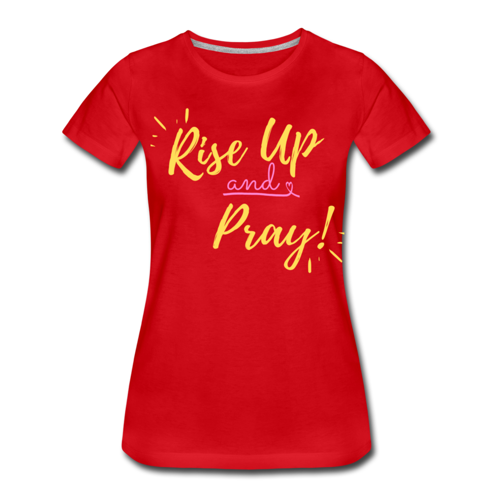 Rise Up Women's T-Shirt - red