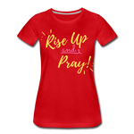 Load image into Gallery viewer, Rise Up Women's T-Shirt - red