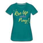 Load image into Gallery viewer, Rise Up Women's T-Shirt - teal